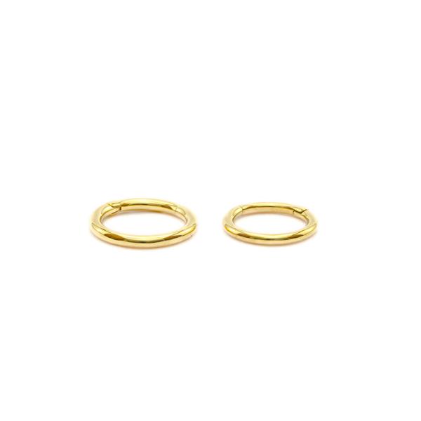 Piercing pour oreilles en or - Clicker Ring